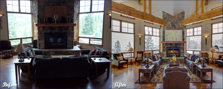 Affordable Decors, Home Staging in Breckenridge, CO